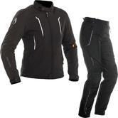 Richa Chloe Ladies Motorcycle Jacket & Trousers Black Kit
