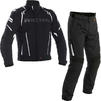 Richa Impact Motorcycle Jacket & Trousers Black Kit Thumbnail 1