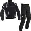 Richa Impact Motorcycle Jacket & Trousers Black Kit Thumbnail 2