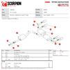Scorpion Car Exhaust GPF-Back System (Resonated) Daytona - Audi SQ2 GPF Model 2019 - 2021 Thumbnail 4