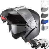 Agrius Fury Flip Front Motorcycle Helmet & Visor