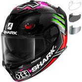 Shark Spartan GT Carbon Redding Replica Motorcycle Helmet & Visor