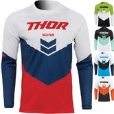 Thor Sector Chev 2022 Youth Motocross Jersey