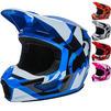 Fox Racing 2022 V1 Lux Motocross Helmet Thumbnail 1