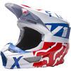 Fox Racing 2022 V1 Skew Motocross Helmet