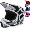 Fox Racing 2022 Youth V1 Lux Motocross Helmet Thumbnail 1