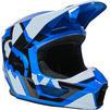 Fox Racing 2022 Youth V1 Lux Motocross Helmet Thumbnail 9