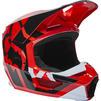 Fox Racing 2022 Youth V1 Lux Motocross Helmet Thumbnail 8