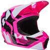Fox Racing 2022 Youth V1 Lux Motocross Helmet Thumbnail 10