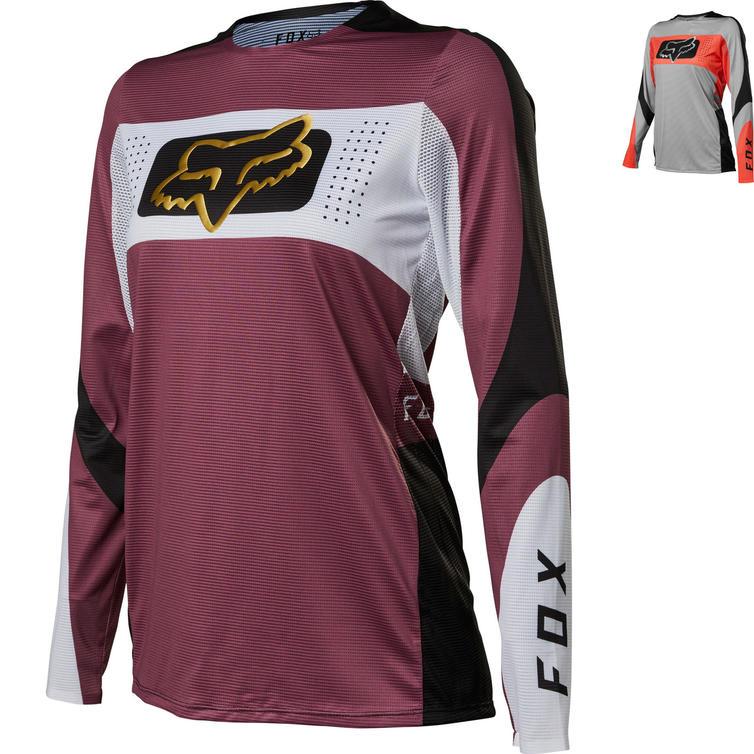 Fox Racing 2022 Ladies Flexair Mirer Motocross Jersey