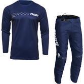 Thor Sector Minimal 2022 Youth Motocross Jersey & Pants Navy Kit