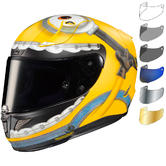 HJC RPHA 11 Otto Minions Motorcycle Helmet & Visor