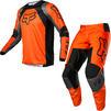 Fox Racing 2022 180 Lux Motocross Jersey & Pants Fluo Orange Kit Thumbnail 2