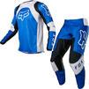 Fox Racing 2022 180 Lux Motocross Jersey & Pants Blue Kit Thumbnail 2