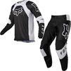 Fox Racing 2022 180 Lux Motocross Jersey & Pants Black White Kit Thumbnail 3