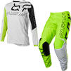 Fox Racing 2022 Youth 180 Skew Motocross Jersey & Pants Fluo Yellow Kit Thumbnail 2
