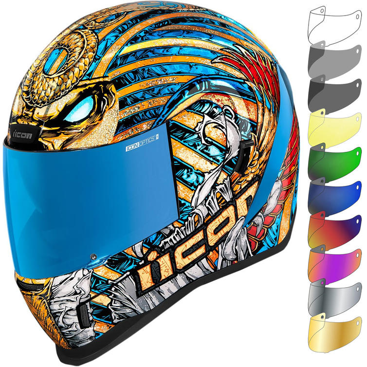 Icon Airform Pharaoh Motorcycle Helmet & Visor