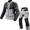 Rev It Defender 3 GTX Motorcycle Jacket & Trousers Silver Anthracite Black Kit Thumbnail 2