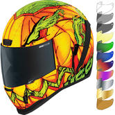 Icon Airform Trick or Street Motorcycle Helmet & Visor