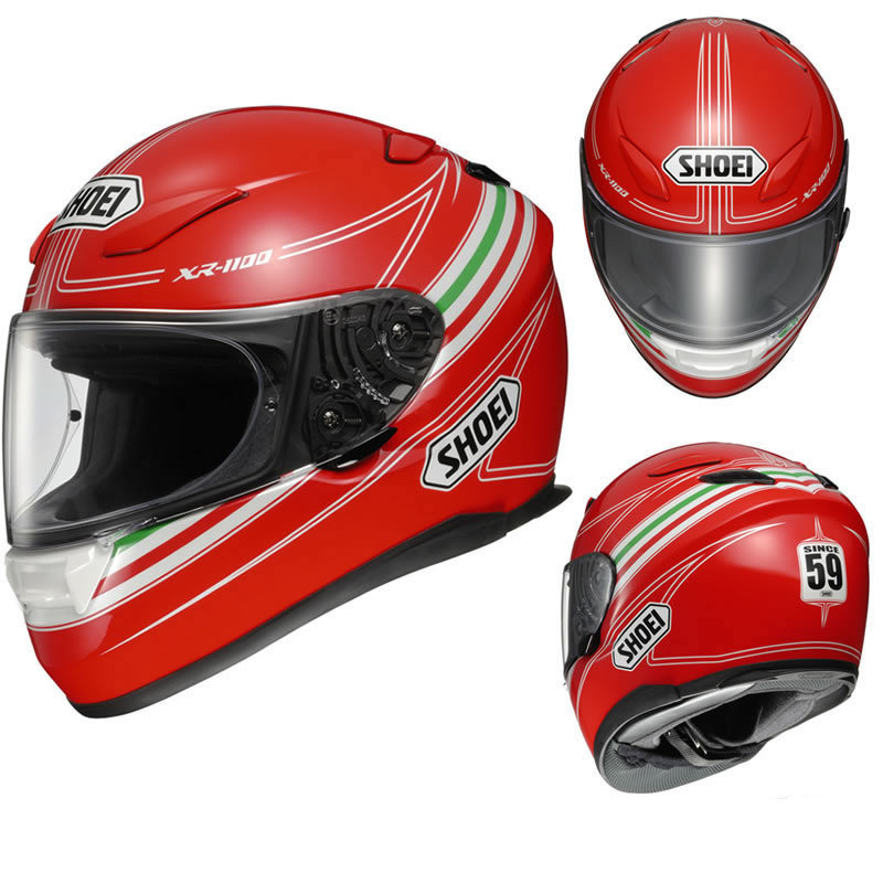 shoei xr 1100 2013 cavallino motorcycle helmet full face. Black Bedroom Furniture Sets. Home Design Ideas
