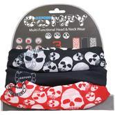 Oxford Comfy Skulls 3 Pack