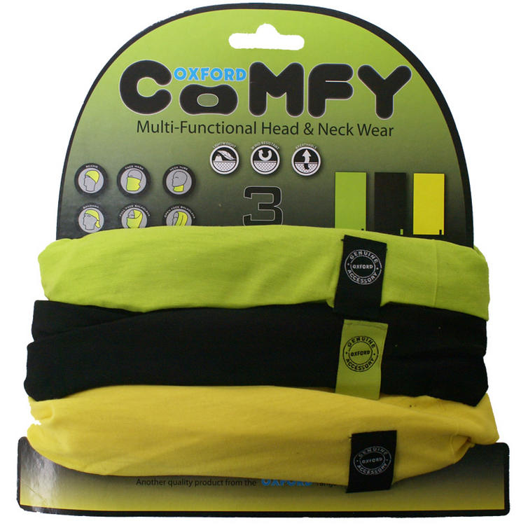 Oxford Comfy Green/Black/Yellow 3 Pack