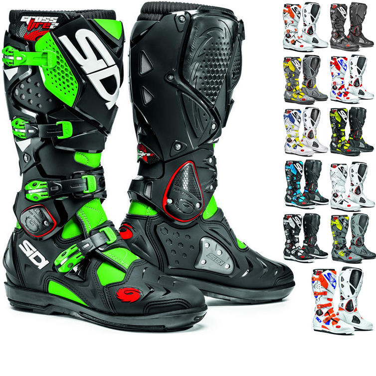 sidi crossfire 2 srs motocross boots motocross boots. Black Bedroom Furniture Sets. Home Design Ideas