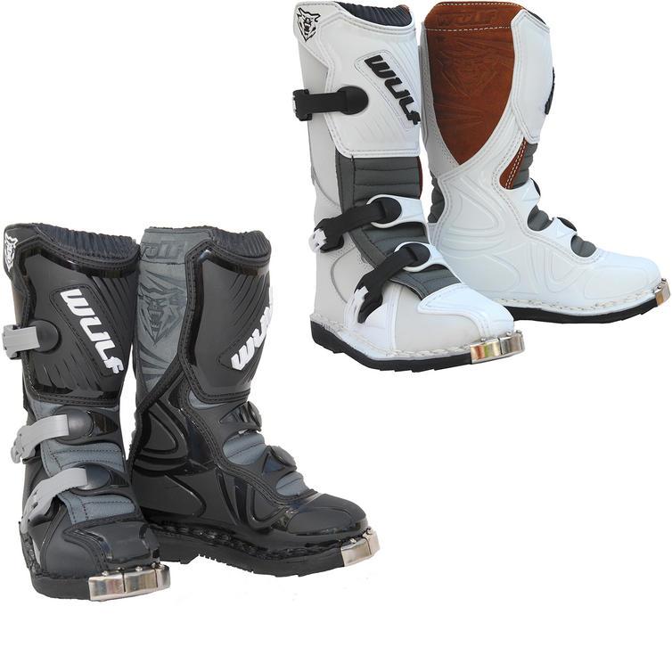 050eeeeba267 Wulf Cub LA Junior Motocross Boots - Boots - Ghostbikes.com
