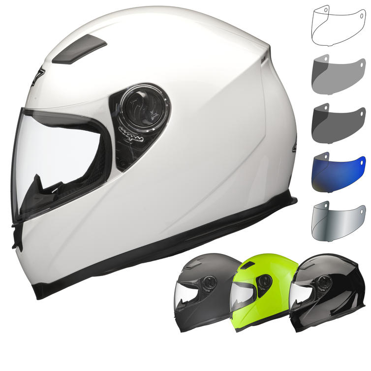a7eef060 Shox Sniper Helmet With 30% Off Additional Visor - Full Face Helmets -  Ghostbikes.com