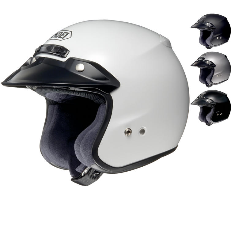 Shoei RJ Platinum-R Open Face Motorcycle Helmet
