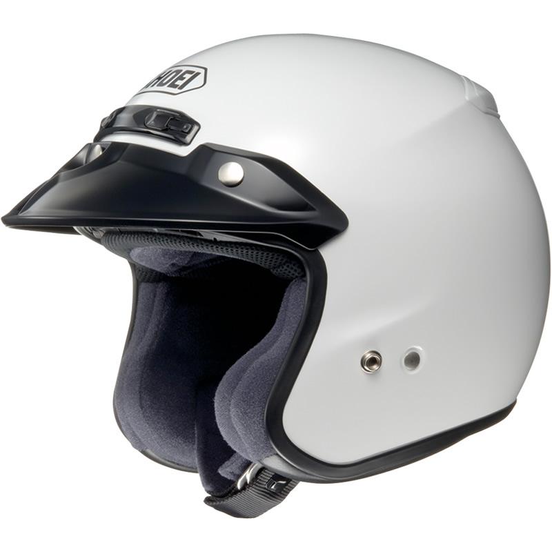 Shoei-RJ-Platinum-R-White-Motorbike-Helmet-Open-Face-Motorcycle-Scooter-Moped