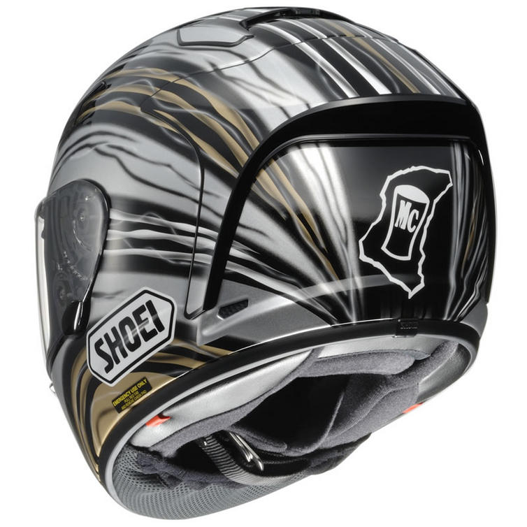 shoei x spirit 2 john mcguinness motorcycle helmet full face helmets. Black Bedroom Furniture Sets. Home Design Ideas
