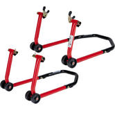 Black Pro Range All In One Paddock Stand and All In One Paddock Stand Legs Kit (B5068 and B5077)