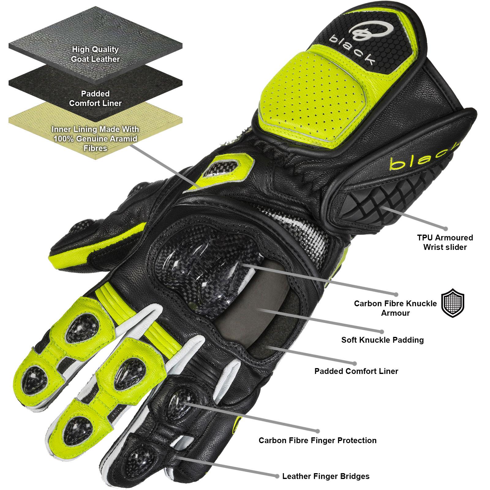 Black Raptor 390 Gloves