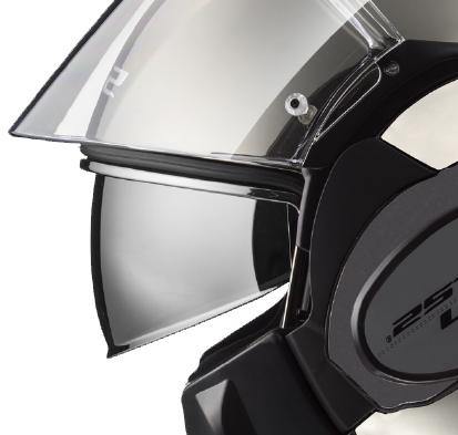 LS2 FF399 Valiant Twin Shield System