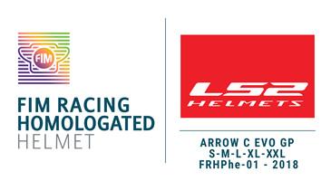 FIM Racing Homologated Helmet