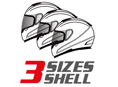 MT 3 Shell Sizes