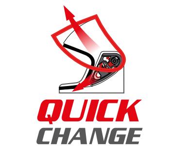 MT Quick Release Visor Change