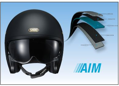 Shoei Advanced Integrated Matrix Shell