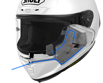 Shoei X-Spirit 3 Helmet Cheek Vent System