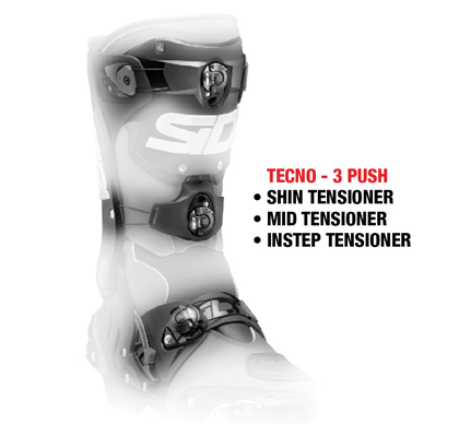 Sidi TECNO-3 Push Tensioner Closure System