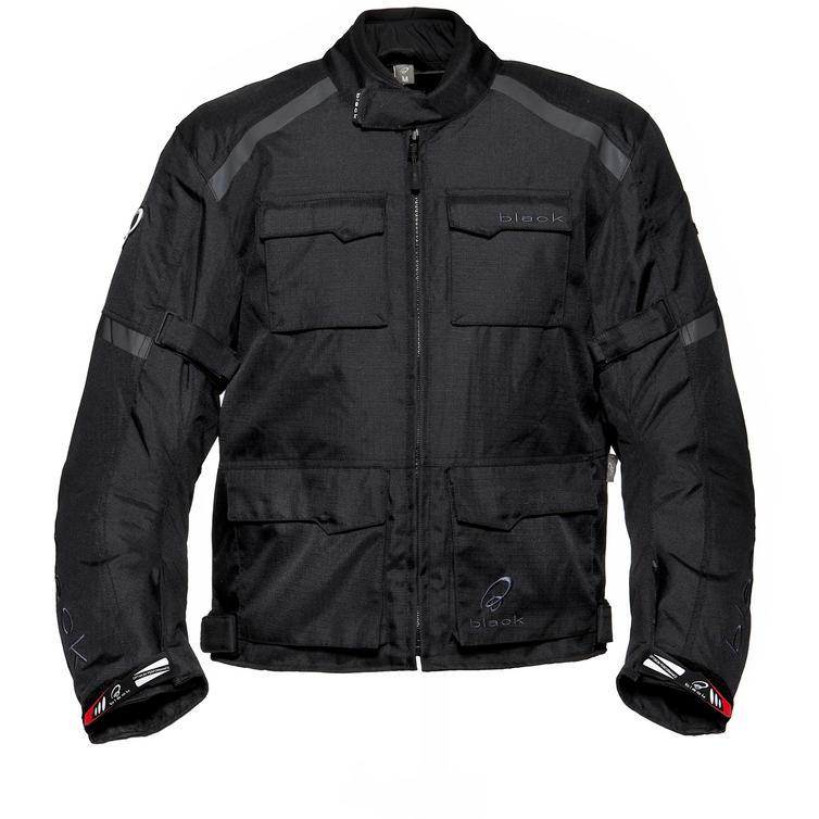 Black Venture Motorcycle Jacket