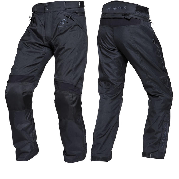 Black Venture Motorcycle Over Trousers