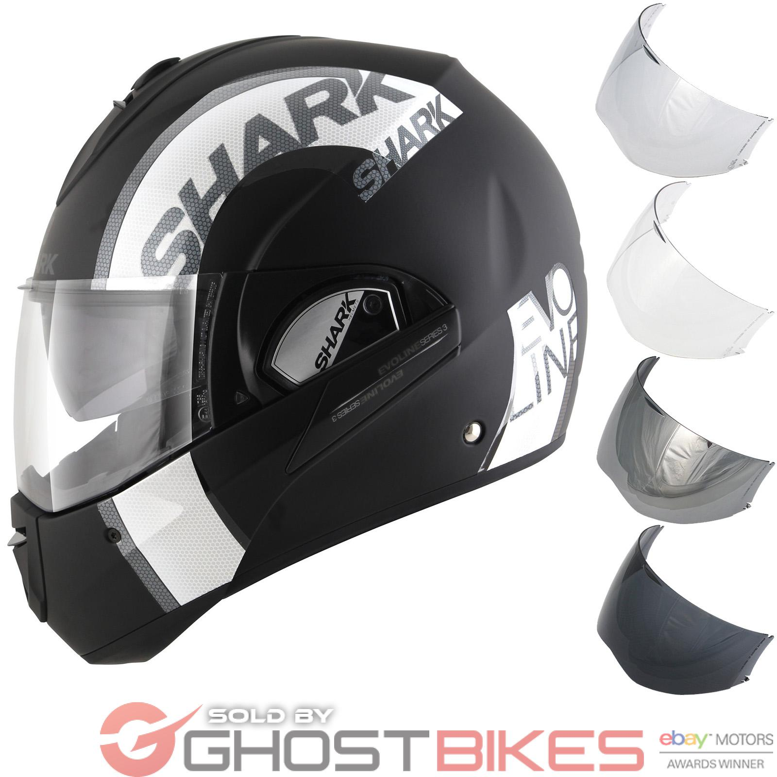 Shark Evoline S3 Drop Dual Touch Flip Front Motorcycle Helmet amp Visor Motorbike - <span itemprop=availableAtOrFrom>Preston, United Kingdom</span> - Returns accepted Most purchases from business sellers are protected by the Consumer Contract Regulations 2013 which give you the right to cancel the purchase within 14 days after the day  - Preston, United Kingdom