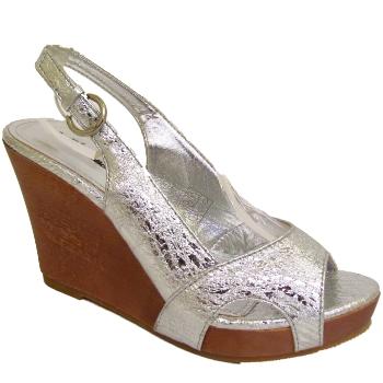 silver platform wedges sandals shoes sizes 3 8 buy