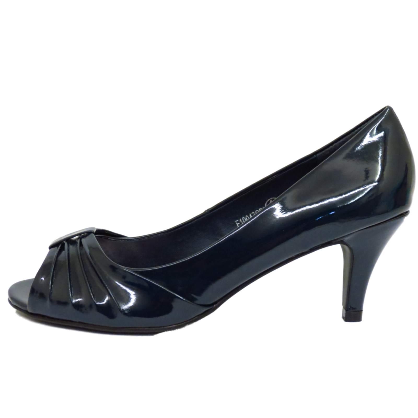 Brown Slip On Court Shoes Ladies