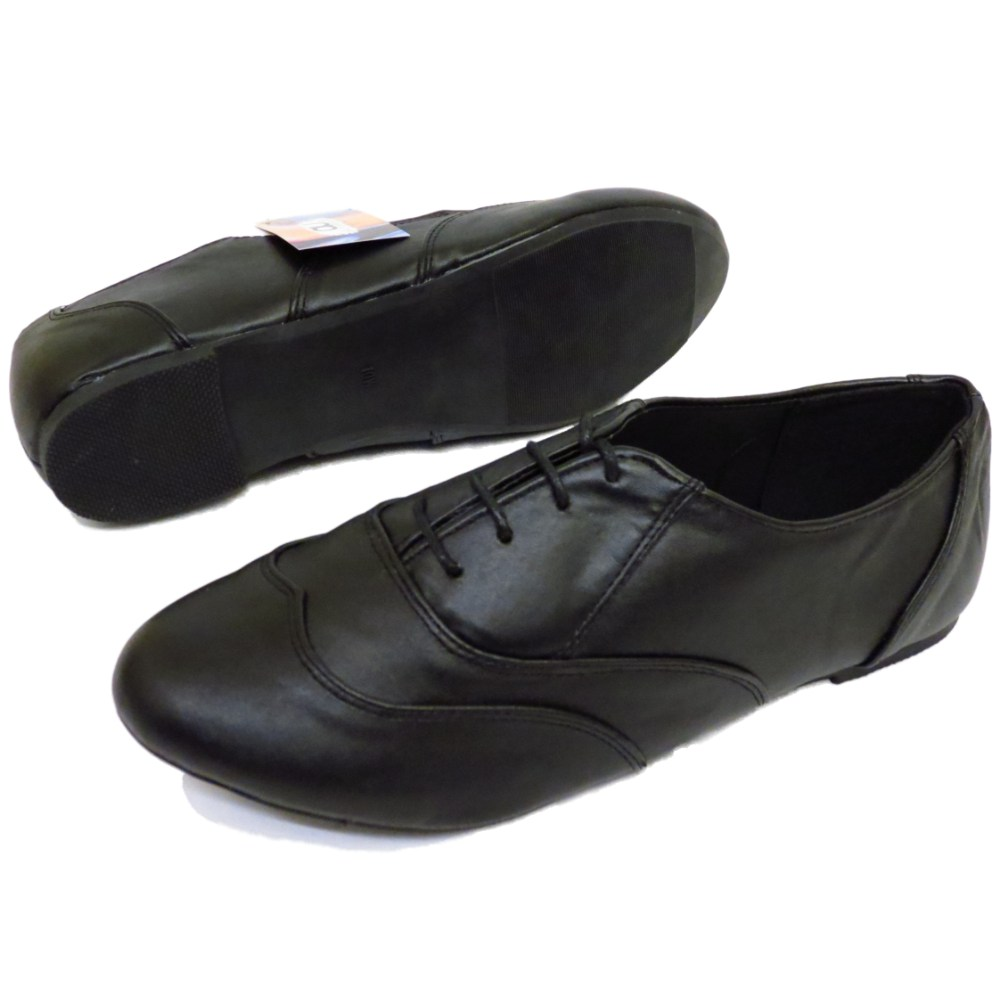Wide Fit Black School Shoes