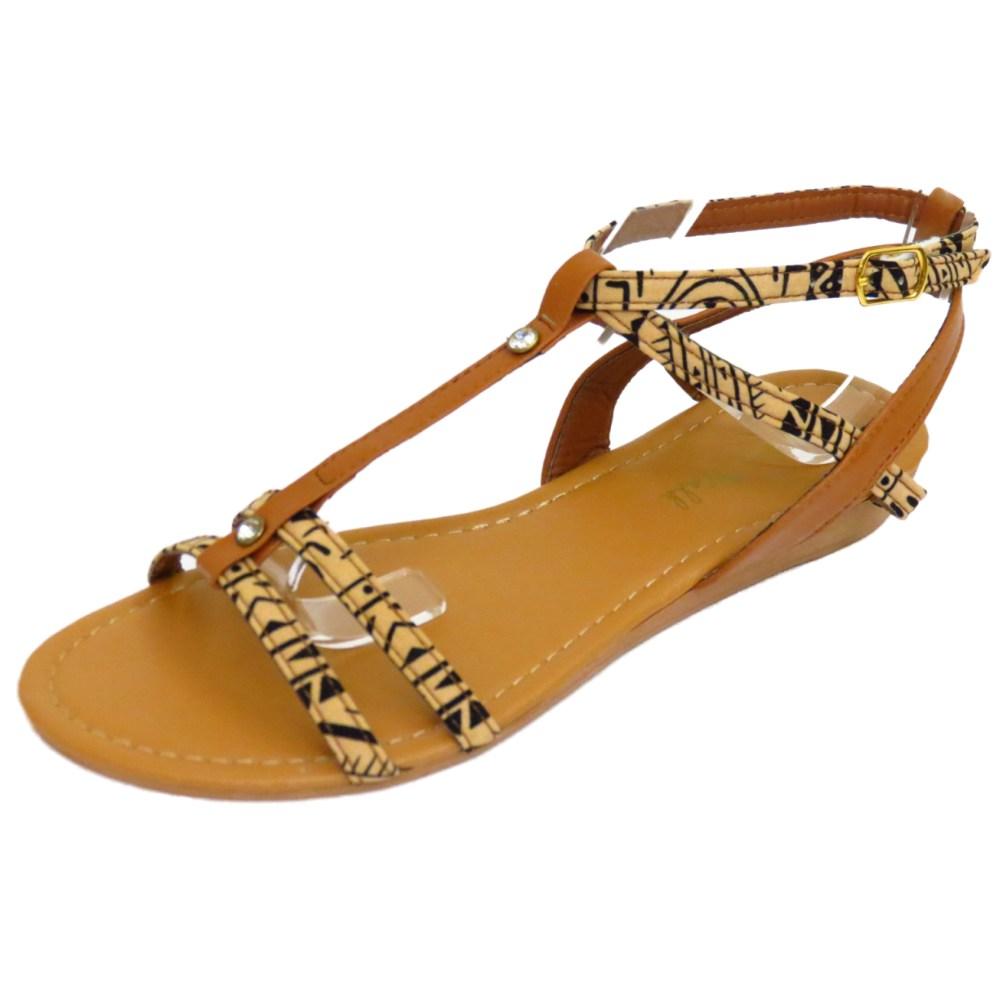 Damen Weiß Flach Bequem Sandalen Flip Flop Schuhe T-Riemen Sommer Strand Pumps Größen 3-8 - Weiß, 6 UK / 39 EU HeelzSoHigh