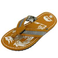 View Item MENS TAN TOE-POST SUMMER FLIP-FLOP HOLIDAY BEACH COMFY SANDALS SHOES SIZES 6-10