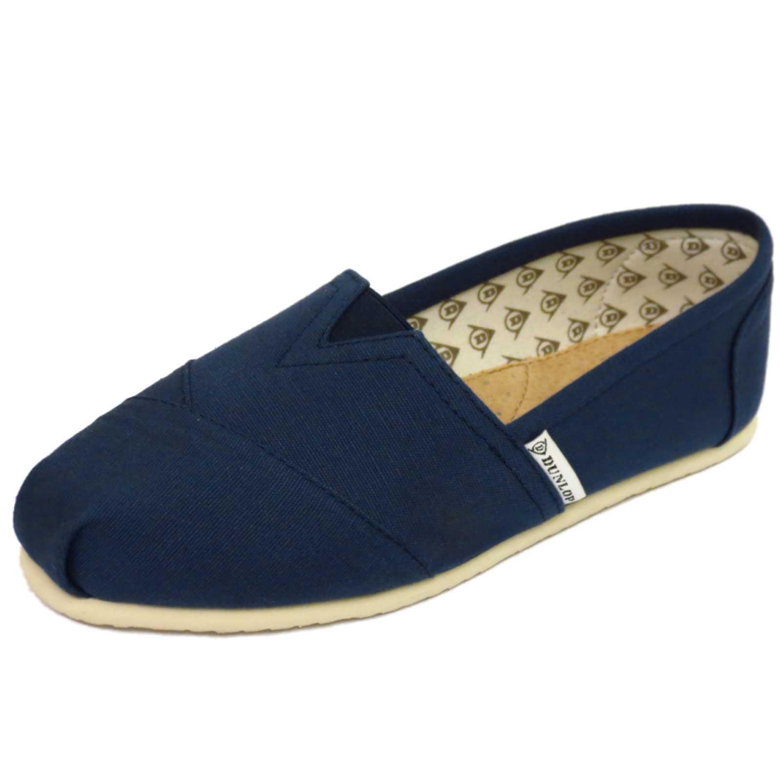 Zapatos azules Dunlop para mujer 2mUBT2LMH